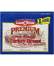 Land O'Frost® Premium® Oven Roasted White Turkey Breast & Whi...