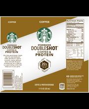 Starbucks® Doubleshot® Coffee & Protein Beverage 11 fl. oz. Can