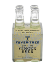 Fever-Tree Premium Natural Mixers Ginger Beer - 4 CT