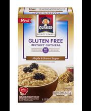 Quaker® Select Starts Gluten Free Maple & Brown Sugar Instant...