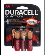 Duracell Quantum AA Alkaline Batteries - 6 CT