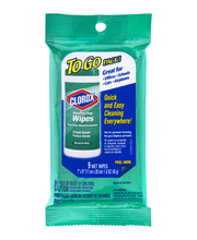 Clorox Disinfecting Wipes To Go Pack - 9 CT