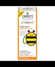 Zarbee's Naturals Children's Cough Syrup with Dark Honey, Nat...