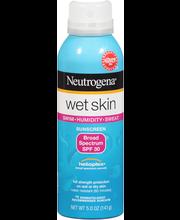 Neutrogena® Wet Skin Spray Broad Spectrum SPF 30 Sunscreen 5....