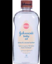 Johnson's® Shea & Cocoa Butter Baby Oil 14 fl. oz. Bottle