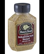 Boar's Head Mustard Delicatessen Style