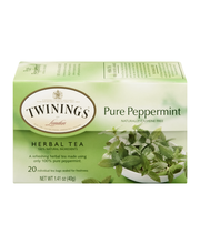 Twinings® of London Pure Peppermint Herbal Tea 1.41 oz. Box