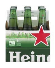 Heineken® Lager Beer 6-12 fl. oz. Bottles
