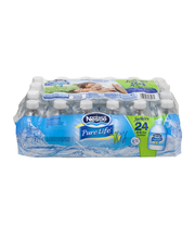 NESTLE PURE LIFE Purified Water, 8-ounce  Share-A-Smile plast...