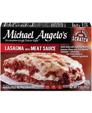 Michael Angelo's® Lasagna with Meat Sauce 11 oz. Box