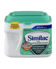 Similac® for Supplementation Infant Formula with Iron 1.45 lb...