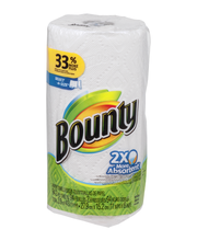 Basic Bounty Basic Paper Towels with Prints 8 Regular Rolls