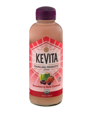 KeVita Sparkling Probiotic Drink Strawberry Acai Coconut