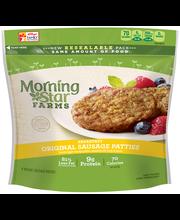 MorningStar Farms® Veggie Breakfast Original Sausage Patties ...