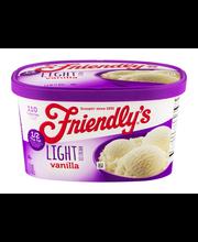 Friendly's Light Ice Cream Vanilla