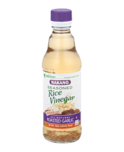 Nakano® Seasoned Roasted Garlic Rice Vinegar 12 fl. oz. Glass...
