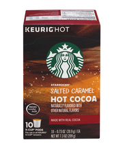 Starbucks® Salted Caramel Hot Cocoa K-Cup® Pods 10-0.73 oz. Pods