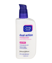 Clean & Clear® Dual Action Moisturizer 4 fl. oz. Pump