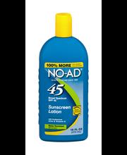 NO-AD Broad Spectrum SPF 45 Sunscreen Lotion
