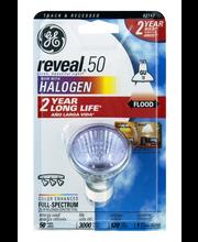 GE Track & Recessed Reveal Halogen GU 50 Watt Floodlight