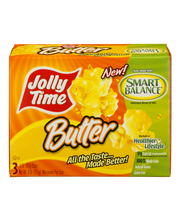 Jolly Time® Butter Microwave Pop Corn 3-3 oz. Bags