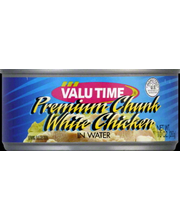 VALU TIME WHITE CHICKEN CHNK/WTR