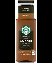 Starbucks® Medium Roast Sweetened Iced Coffee 11 fl. oz. Bottle