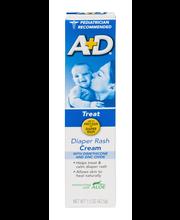 A+D® Diaper Rash Cream 1.5 oz. Box