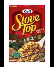 Kraft Stove Top Turkey Stuffing Mix 6 oz. Box