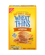 Nabisco Wheat Thins Original Snacks 9.1 oz. Box