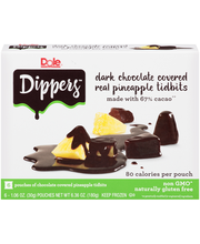 Dole® Dippers Dark Chocolate Covered Real Pineapple Tidbits 6...
