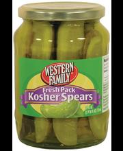Wf Frsh Kosher Pkl Spears