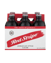 Red Stripe Jamaican Style Lager Beer Bottles - 6 CT