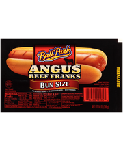 Ball Park Angus Beef Bun Size Franks 14 oz. Pack
