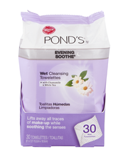 Ponds® Evening Soothe® Wet Cleansing Towelettes with Chamomil...