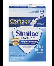 Similac® Advance® Pre-Measured Powder Singles Infant Formula ...