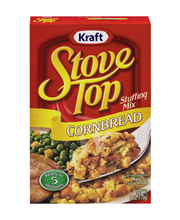Kraft Stove Top Cornbread Stuffing Mix 6 oz. Box