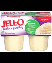 Jell-O® Tapioca Pudding Snacks 4 ct Cups