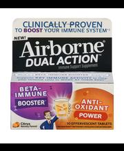 Airborne® Dual Action™ Citrus Immune Support Effervescent Tab...