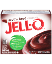 Jell-O® Devil's Food Instant Pudding & Pie Filling Mix 3.8 oz...