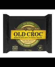 Old Croc Australian Cheese Extra Sharp Cheddar