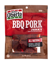 Oberto® All Natural BBQ Seasoned Pork Jerky 3.25 oz. Bag