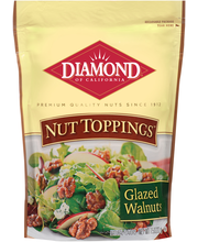 Diamond of California® Nut Toppings™ Glazed Walnuts 7.5 oz. Bag
