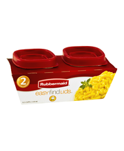 Rubbermaid Easy Find Lids - .5 Cups