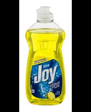 Joy Ultra Lemon Scent Dishwashing Liquid 12.6 fl. oz. Bottle