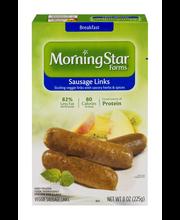 MorningStar Farms® Veggie Breakfast Veggie Sausage Links 8 oz...