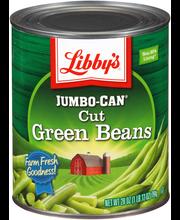 Libby's® Jumbo-Can® Cut Green Beans 28 oz. Can