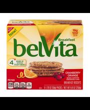 belVita Cranberry Orange Breakfast Biscuits 5-4 ct Packs
