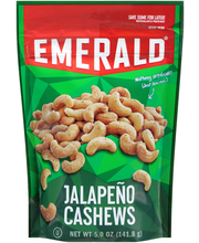 Emerald® Jalapeno Cashews 5.0 oz. Pouch