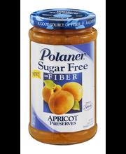 Polaner® Sugar Free with Fiber Apricot Preserves 13.5 oz. Jar
